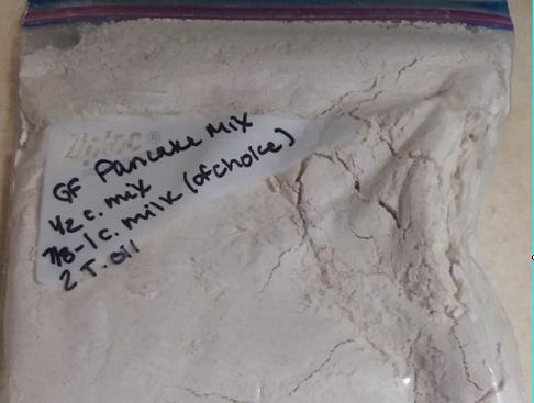 Make Ahead Pancake Mix