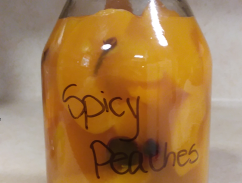 Grandma G's Spicy Peaches